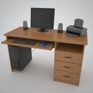 Компьютерные столы эконом