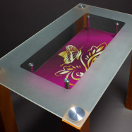 Кухонный стеклянный стол купить