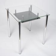 Квадратный стол с полкой купить